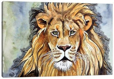 Lion II Canvas Art Print