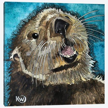 My Good Side Canvas Print #KMW83} by Kim Winberry Canvas Wall Art