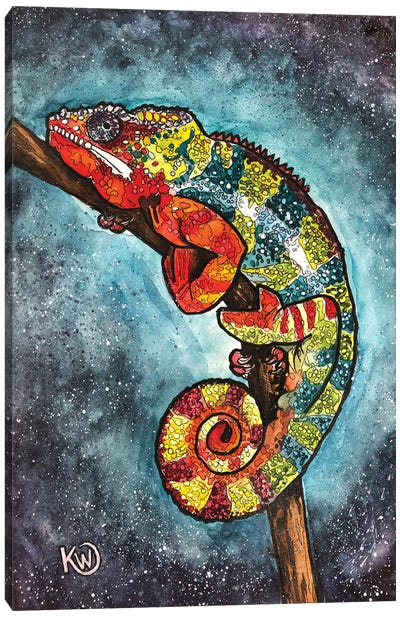 Panther Chameleon III Canvas Art Print