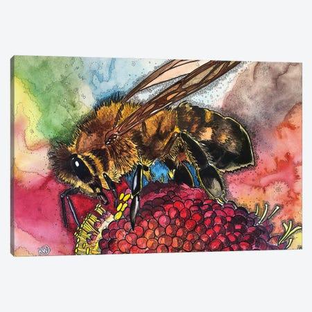 Pollen Feast Canvas Print #KMW87} by Kim Winberry Canvas Art Print