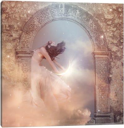 Sky Goddess Canvas Art Print