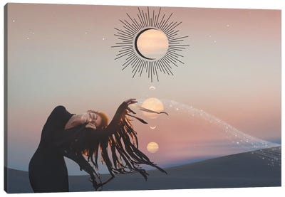 Desert Dance Canvas Art Print