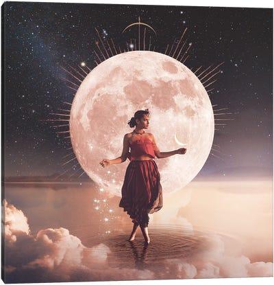 Full Moon In Libra Canvas Art Print