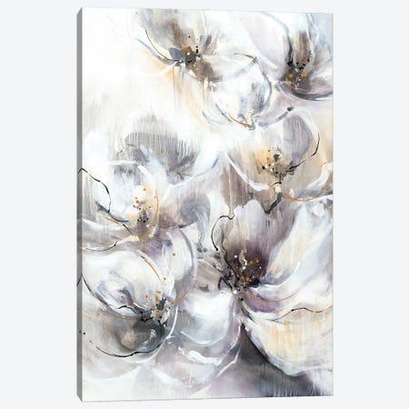 Pearlescent Blooms Canvas Print #KNA12} by K. Nari Art Print