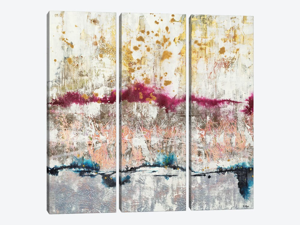 Future Air by K. Nari 3-piece Canvas Print