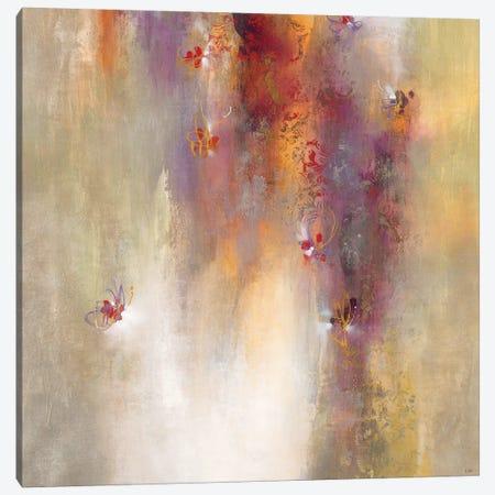 Scarlet Summer Canvas Print #KNA8} by K. Nari Canvas Print