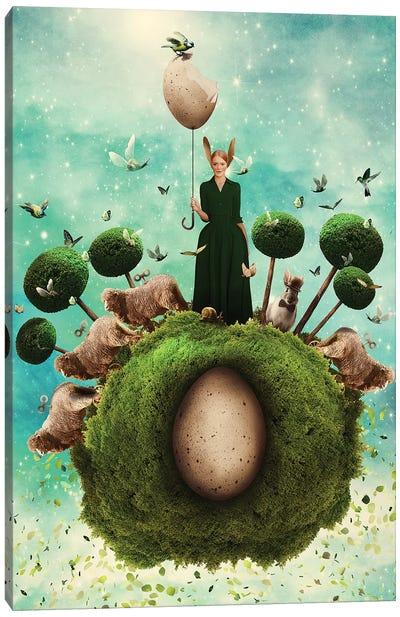 Easter Planet No 27 Canvas Art Print