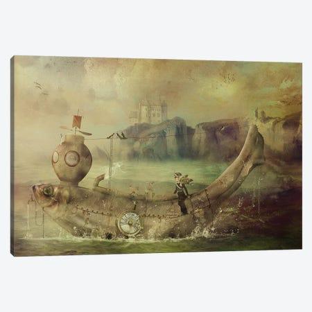 Full Steam Ahead Canvas Print #KNB20} by Kinga Britschgi Canvas Print
