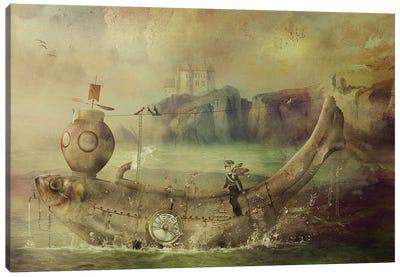 Full Steam Ahead Canvas Art Print