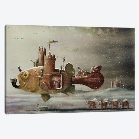 No Steam Canvas Print #KNB37} by Kinga Britschgi Art Print