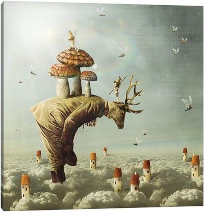 The Deerest Ones Canvas Art Print