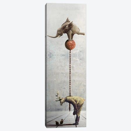 The Performance Canvas Print #KNB50} by Kinga Britschgi Canvas Artwork
