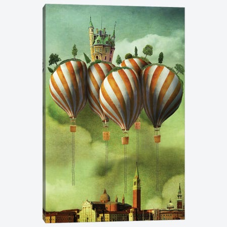 What Lies Above Canvas Print #KNB55} by Kinga Britschgi Art Print