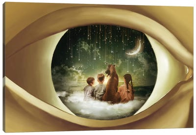 As If By Magic We See Canvas Art Print