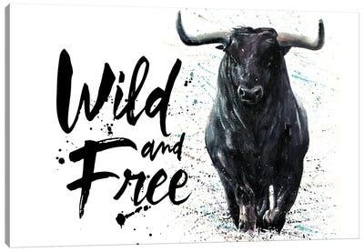 Buffalo Wild & Free Canvas Art Print