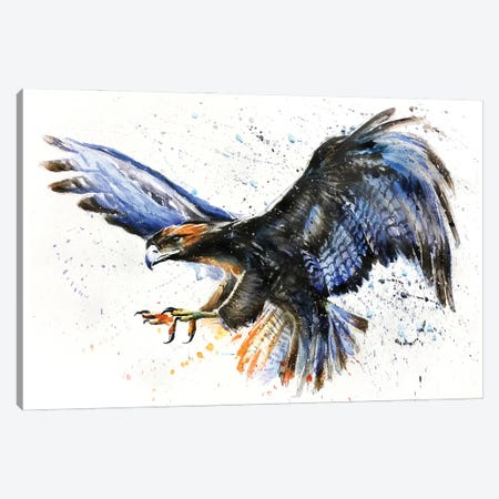 Eagle II Canvas Print #KNK13} by Konstantin Kalinin Canvas Art Print