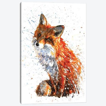 Fox III Canvas Print #KNK17} by Konstantin Kalinin Canvas Art
