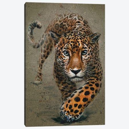 Leopard Canvas Print #KNK28} by Konstantin Kalinin Canvas Artwork