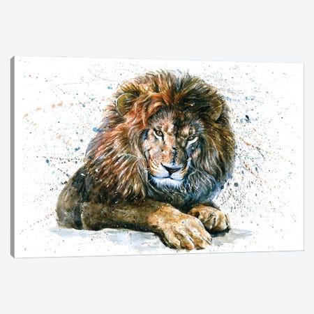 Lion V Canvas Print #KNK32} by Konstantin Kalinin Art Print