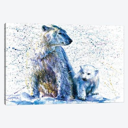 Polar Bear II Canvas Print #KNK52} by Konstantin Kalinin Canvas Art Print