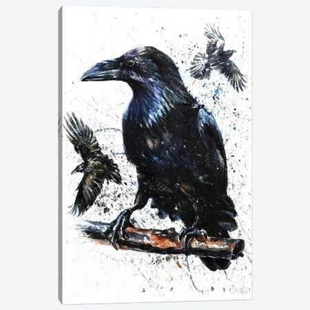 Raven II Canvas Print #KNK55} by Konstantin Kalinin Canvas Art
