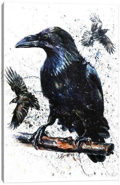 Raven II Canvas Art Print
