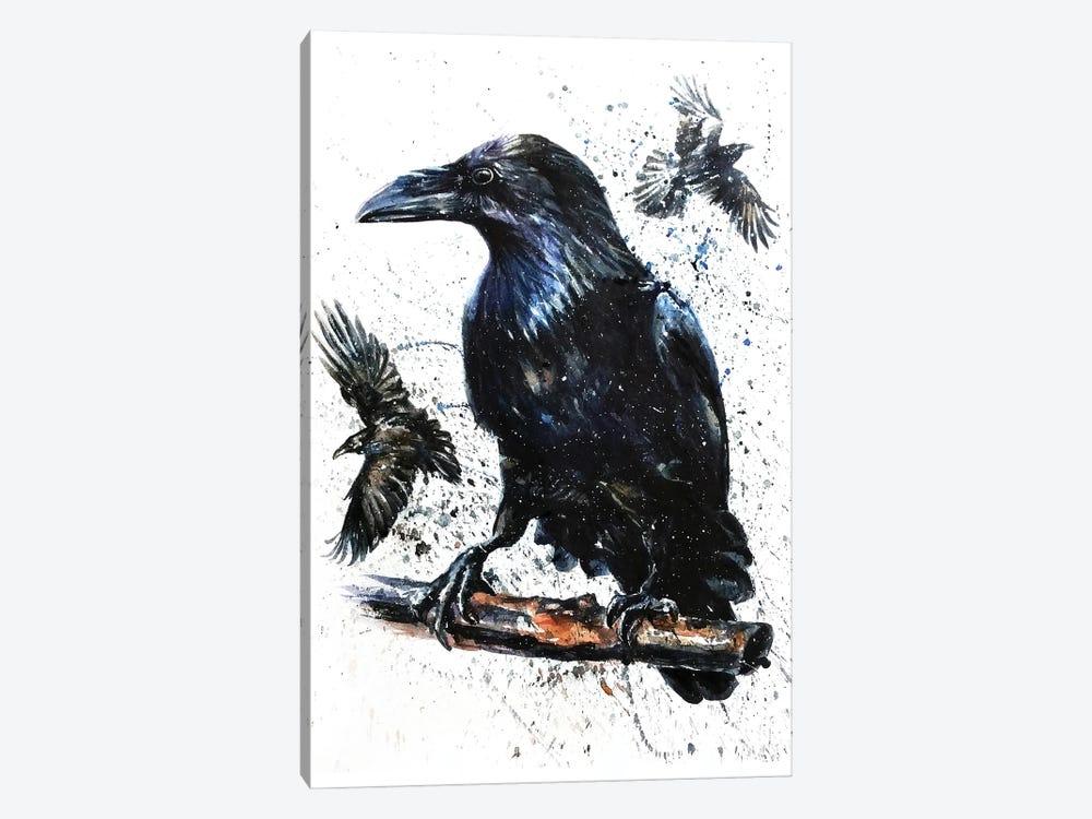 Raven II by Konstantin Kalinin 1-piece Canvas Wall Art