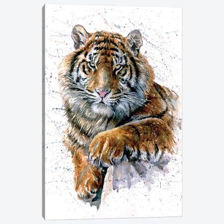 Tiger II Canvas Print #KNK62} by Konstantin Kalinin Canvas Artwork