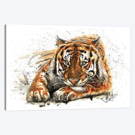 Tiger Canvas Print #KNK65} by Konstantin Kalinin Canvas Art Print