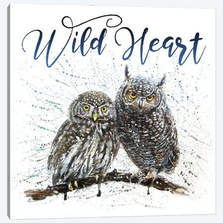 Wild Heart Owls Canvas Print #KNK66} by Konstantin Kalinin Canvas Art Print
