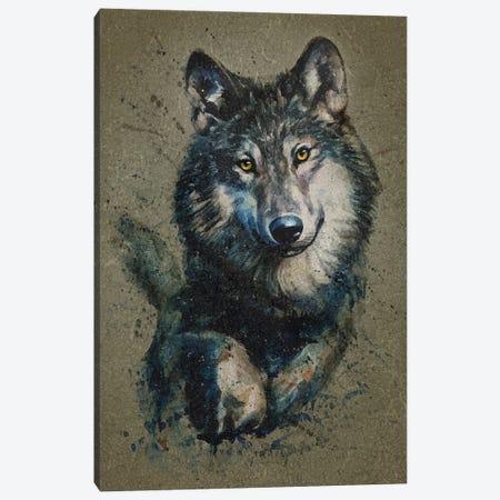 Wolf II Canvas Print #KNK67} by Konstantin Kalinin Art Print