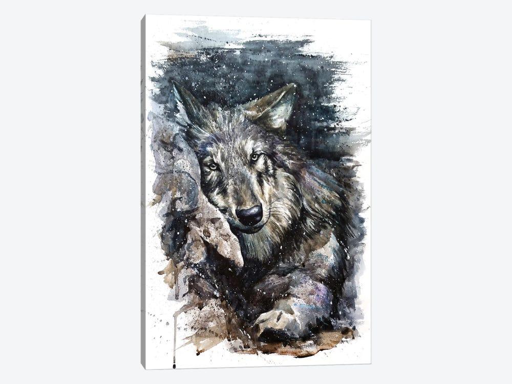 Wolf Life by Konstantin Kalinin 1-piece Canvas Print