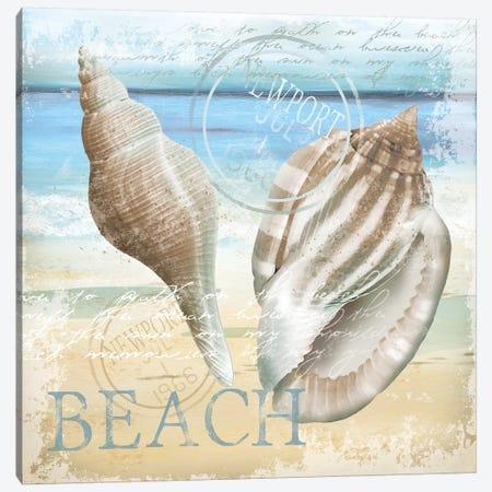 The Beach Canvas Print #KNU101} by Conrad Knutsen Canvas Print