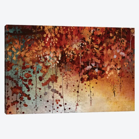 Cascading Leaves Canvas Print #KNU108} by Conrad Knutsen Art Print