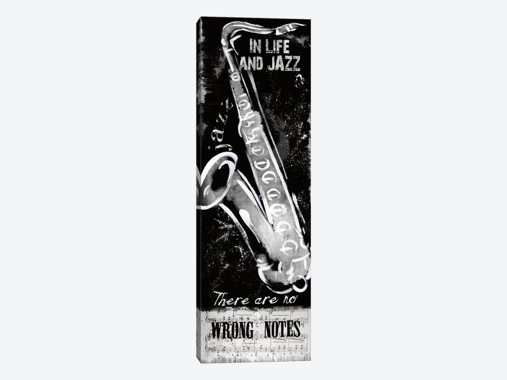 Wrong Notes by Conrad Knutsen 1-piece Canvas Print