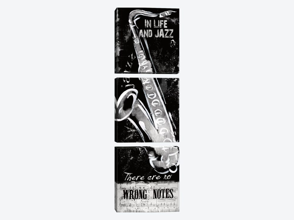 Wrong Notes by Conrad Knutsen 3-piece Art Print