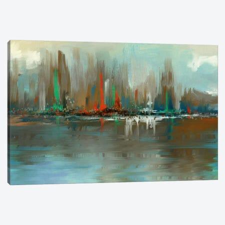 In View 3-Piece Canvas #KNU111} by Conrad Knutsen Canvas Wall Art