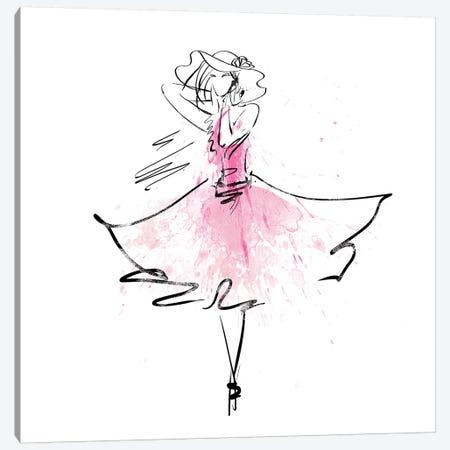 Whimsy Girl II Canvas Print #KNU119} by Conrad Knutsen Canvas Artwork