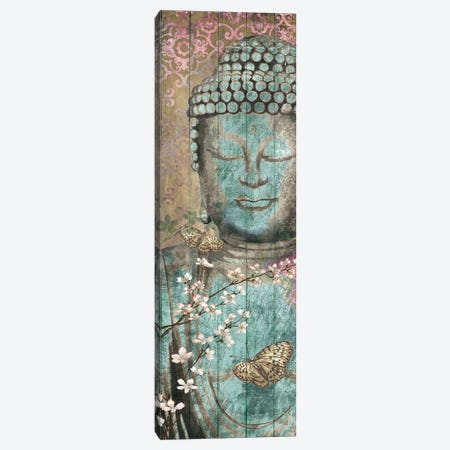 Floriental Buddha 3-Piece Canvas #KNU121} by Conrad Knutsen Canvas Art Print