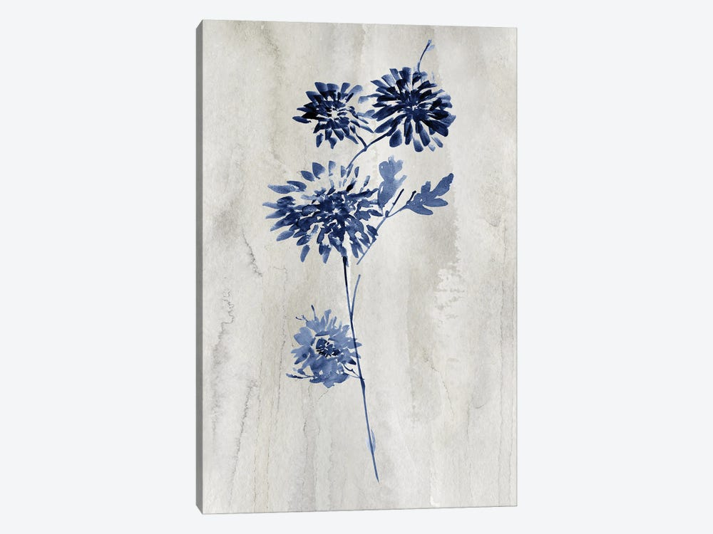 Indigo Botanical IV by Conrad Knutsen 1-piece Canvas Wall Art