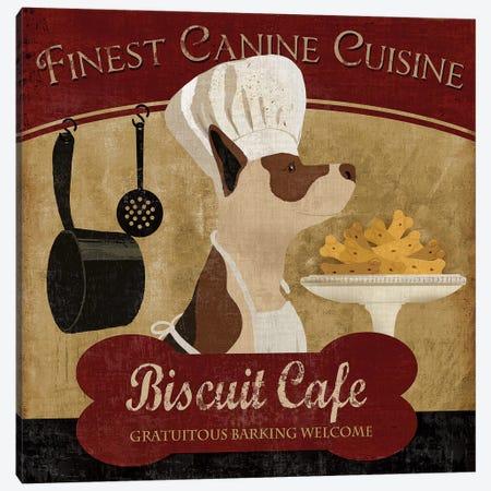 Biscuit Café Canvas Print #KNU12} by Conrad Knutsen Art Print