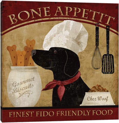 Bone Appetit Canvas Art Print