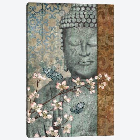 Buddha Canvas Print #KNU14} by Conrad Knutsen Canvas Wall Art