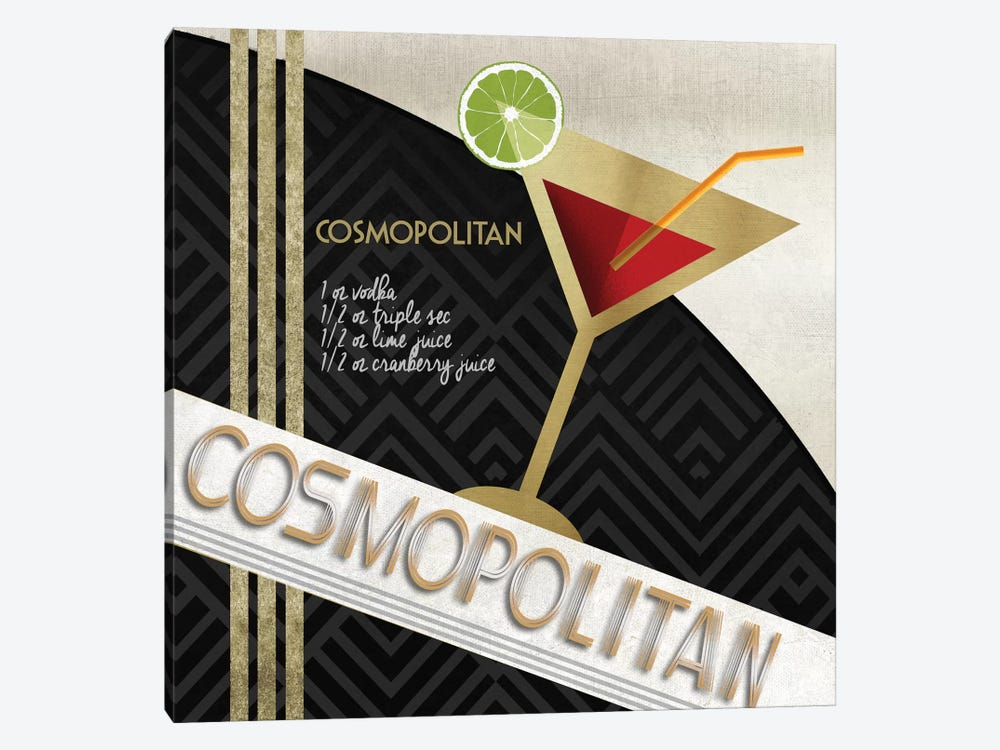 Cosmo Straight Up by Conrad Knutsen 1-piece Canvas Wall Art