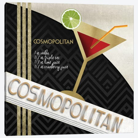 Cosmo Straight Up Canvas Print #KNU19} by Conrad Knutsen Art Print