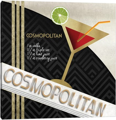 Cosmo Straight Up Canvas Art Print