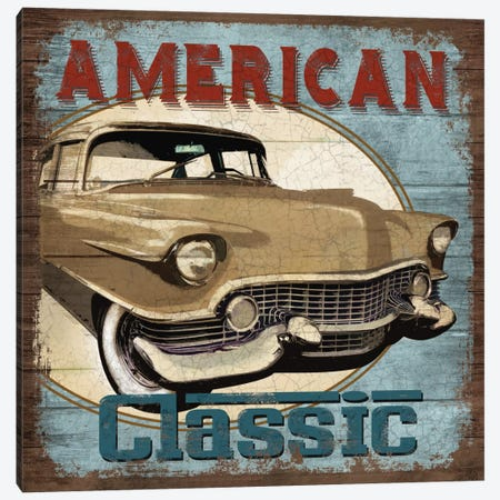American Classic Canvas Print #KNU1} by Conrad Knutsen Canvas Wall Art
