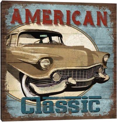 American Classic Canvas Print #KNU1