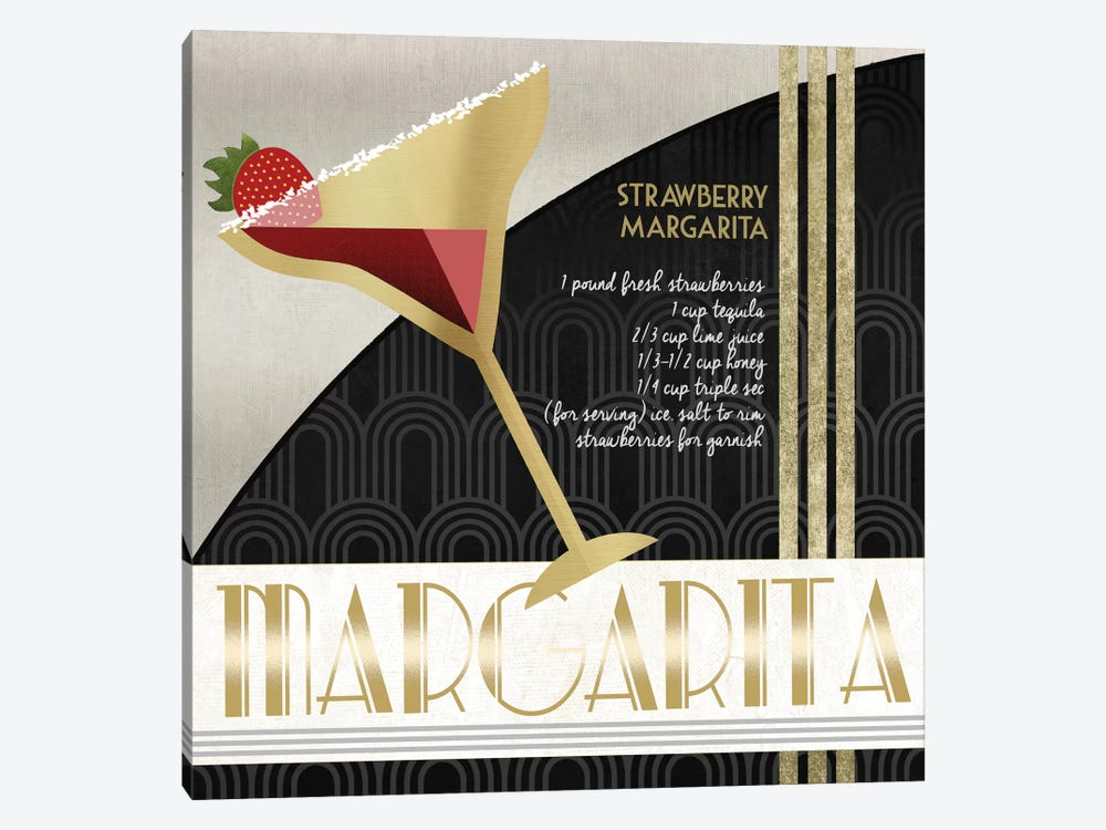 Happy Hour Margarita by Conrad Knutsen 1-piece Canvas Artwork
