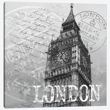 London Canvas Print #KNU24} by Conrad Knutsen Canvas Art Print